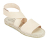 Prism Women's Naxos Ankle Strap Leather Sandals - Natural: Image 5