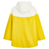 Ilse Jacobsen Women's Contrast Cape - Cyber Yellow: Image 2