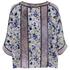KENZO Women's Moonmap Long Sleeve Top - Pale Pink: Image 3