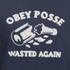OBEY Clothing Women's Obey Posse Crew Sweatshirt - Navy: Image 4
