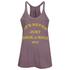 OBEY Clothing Women's Never Just Rock N Roll Danika Tank Top - Dusty Merlot: Image 1