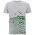 Paul Smith Jeans Men's Printed Crew Neck T-Shirt - Grey: Image 1