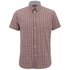 Paul Smith Jeans Men's Classic Fit Check Shirt - Red: Image 1