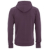 Soul Star Men's Berkley Zip Through Hoody - Burgundy: Image 2