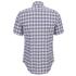 Lacoste Men's Short Sleeve Checked Shirt - Iodine: Image 2