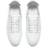 AMI Men's Low Top Trainers - White/ Navy: Image 2