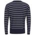 AMI Men's Oversized Crew Neck Sweatshirt - Navy/White: Image 2