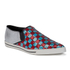 Marc Jacobs Women's Delancey Sequins Embroidered Slip-On Trainers - Aqua/Red: Image 5