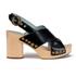 Marc Jacobs Women's Linda Criss Cross Heeled Sandals - Black: Image 1