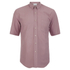 Our Legacy Men's Short Sleeve Classic Shirt - Pink Silk: Image 1