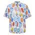Our Legacy Men's Short Sleeve Tropic Shirt - White Graffiti: Image 1