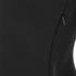 Alexander Wang Women's Peplum Shells Top with Front Lacing - Onyx: Image 4