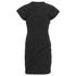 Alexander Wang Women's Draped Bustier T-Shirt Dress - Onyx: Image 1