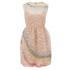 REDValentino Women's Rainbow Lace Dress - Nude: Image 1
