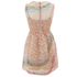 REDValentino Women's Rainbow Lace Dress - Nude: Image 2