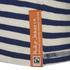 Nudie Jeans Men's Otto Raglan Sleeve Top - Off White/Navy: Image 3