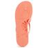 Ted Baker Women's Ettiea Jelly Bow Flip Flops - Light Orange: Image 3