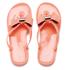 Ted Baker Women's Ettiea Jelly Bow Flip Flops - Light Orange: Image 1
