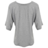 Helmut Lang Women's Wide Sleeve Scoop Top - Medium Heather: Image 2