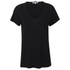 Helmut Lang Women's Cotton Cashmere Jersey Scoop Neck T-Shirt - Black: Image 1