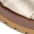 See by Chloe Women's Leather Slide Sandals - Gold: Image 4