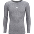Myprotein Men's Seamless Performance Long Sleeve Top - Grey: Image 1