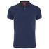 Luke Men's 2 Bob Note Mixed Fabric Polo Shirt - Dusk: Image 1