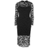 French Connection Women's Lace Full Length Dress - Black: Image 1