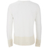 YMC Men's Block Long Sleeve T-Shirt - Cream: Image 2