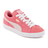 Puma Women's Suede Classic Low Top Trainers - Desert Flower/White: Image 4