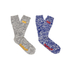 Superdry Men's Double Pack Hiker Socks - Mid Grey Twist/Cobalt Blue: Image 1