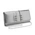 Versus Versace Women's Water Snake Clutch Bag - Silver: Image 2