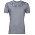 Versace Collection Men's Neck Detail T-Shirt - Grey: Image 1