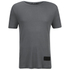 T by Alexander Wang Men's Short Sleeve T-Shirt With Silk Patch - Slate: Image 1