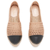 Loeffler Randall Women's Mariko Perforated Flatform Espadrilles - Buff/Black: Image 2