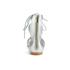 Loeffler Randall Women's Dani Front Tie Sandals - Silver: Image 3