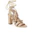 Loeffler Randall Women's Luz Tassel Block Heeled Sandals - Wheat: Image 5