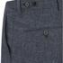 J.Lindeberg Men's Linen Mix Shorts - Navy: Image 3