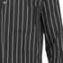 Opening Ceremony Men's Pinstripe Tunic Shirt - Black: Image 3