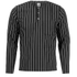 Opening Ceremony Men's Pinstripe Tunic Shirt - Black: Image 1