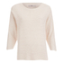 ONLY Women's Tessa 3/4 Oversize Pullover Knit Jumper - Peach Blush: Image 1