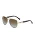 MICHAEL MICHAEL KORS Women's Fiji Glam Chain Link Sunglasses - Gold: Image 2