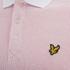 Lyle & Scott Vintage Men's Grid Texture Polo Shirt - White: Image 3