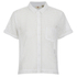 Levi's Women's Shorts Sleeve Cropped Shirt - White: Image 1