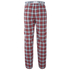 Tokyo Laundry Men's Half Moon Bay Check Loungepants - Samba Red: Image 2