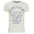 Superdry Men's Yard Printed T-Shirt - Superdry Ecru: Image 1