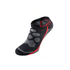 KYMIRA Infrared Ankle Socks - Black/Red: Image 2