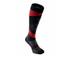 KYMIRA Infrared Compression Socks - Black/Red: Image 1