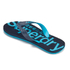 Superdry Men's Flip Flops With Clear Sole - Fluro Blue/Dusk Navy: Image 4