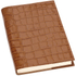 Aspinal of London Women's Refillable Journal A5 Lined - Tan Croc: Image 2